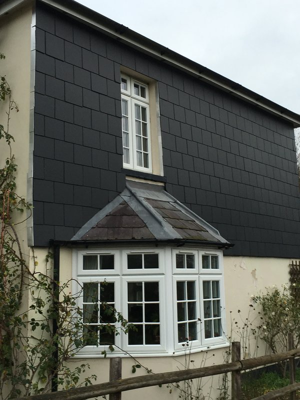 Vertical Tiling from John Brown Roofing Fleet, covering Hampshire Surrey and Berkshire