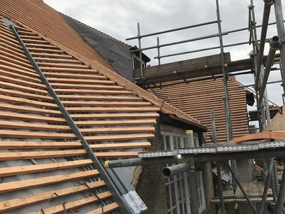 New Pitched Roof Hampshire roofer Surrey