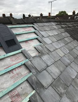 Slate roof berkshire roofer