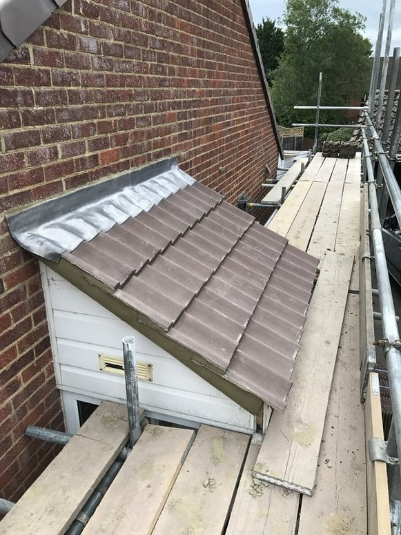 Pitched Roofinng  replacement from John Brown Roofing Fleet Hampshire