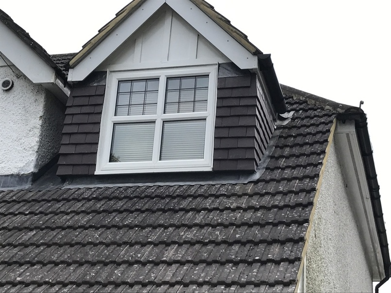 Vertical Tiling from John Brown Roofing Fleet Hampshire
