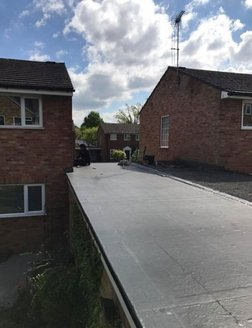 flat roof Hampshire