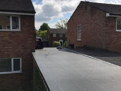 Flat roof Surrey roofer Windlesham
