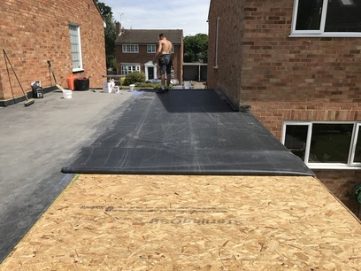 Flat roof fleet roofer aldershot