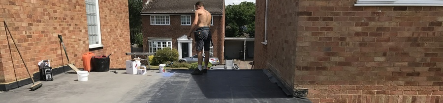 Flat Roofs from John Brown Roofing Fleet Hampshire