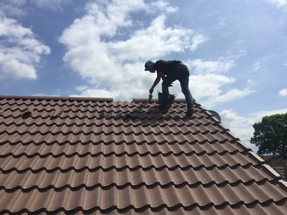 Pitched roof fleet roofer hampshire