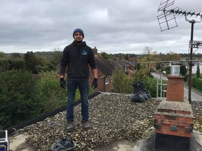 Flat Roof repair in Reading from John Brown Roofing Fleet Hampshire