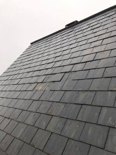 Slate Pitched Roof Repair Elvetham Heath from John Brown Roofing Fleet Hampshire