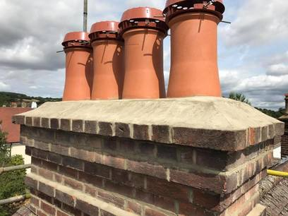 Chimney stack repair and repointing Alton